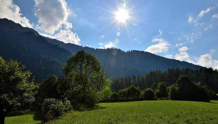 Wandelen rond Sautens en Bergsport